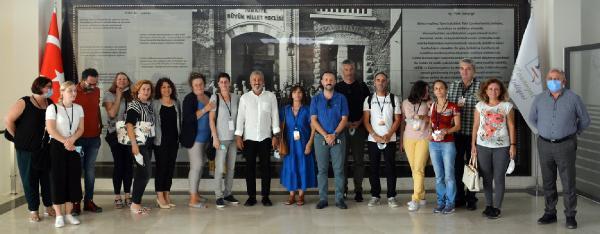 Öğretmenlerden Başkan Sözen'e ziyaret