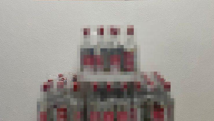 Otelde 78 litre kaçak alkol ele geçirildi