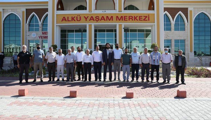 Rektör Kalan STK temsilcilerine ALKÜ'nün plan ve projelerini anlattı