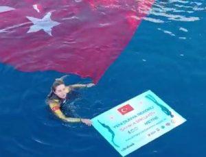 Şahika Ercümen'den dünya rekoru (FOTOĞRAFLAR)