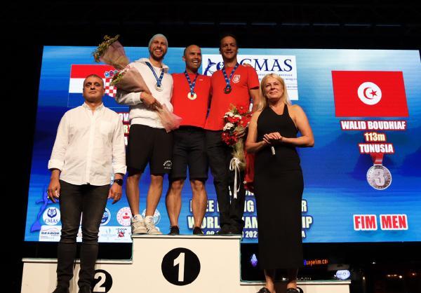 Serbest Dalış Outdoor Dünya Şampiyonası'nda ikinci gün tamamlandı
