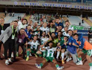 Serik Belediyespor, Somaspor'u 1-0 yendi