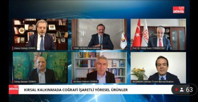 "TOBB Başkanı Hisarcıklıoğlu: ""YÖREX Anadolu'nun ruhu"""