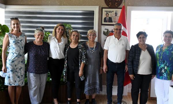 Toprak Ana Kooperatifi üyeleri Başkan Topaloğlu'nu ziyert etti