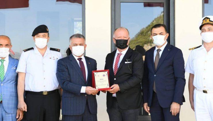 """Vali Yazıcı:""""Antalya'mızın güvenliği noktasında ortak çalışmalar yürütüyoruz"""""""