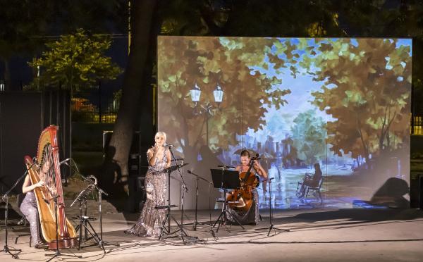 'Venera Ensemble' Antalya DOB sahnesinde